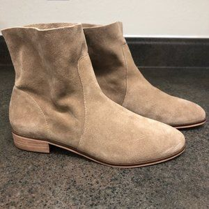 Tan Dr. Scholl's Chelsea Suede Ankle Boot (NWT)